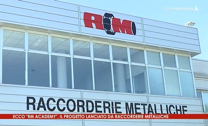 Raccorderie Metalliche at TeleMantova to present RM Academy