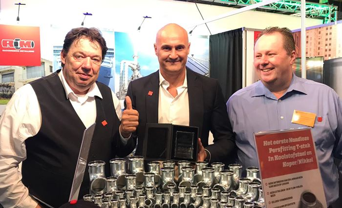 Raccorderie Metalliche vince il Best Stand of 2019