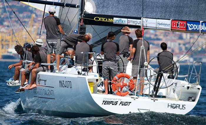 Hoist the sails…the team Horus scored a podium!